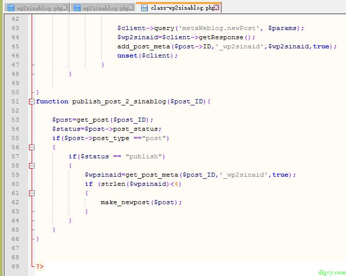 解决转发新浪博客插件wp2sinablog修改文章后重新发布的问题插图3