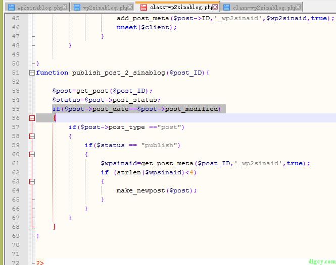 解决转发新浪博客插件wp2sinablog修改文章后重新发布的问题插图4
