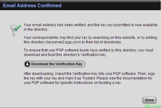 『网络安全』使用PGP实现电子邮件安全插图27