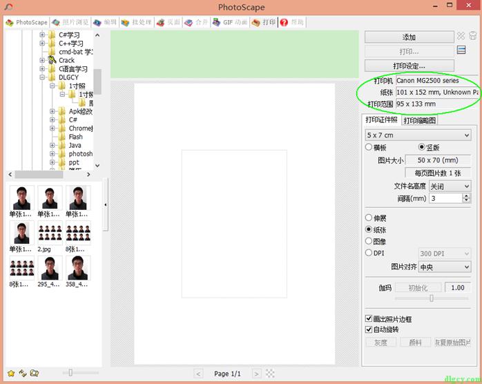 证件照排版打印软件推荐插图2