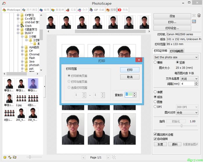 证件照排版打印软件推荐插图8