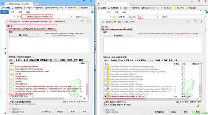 使用TortoiseSVN将某个SVN目录下的目录指向另一个仓库插图11