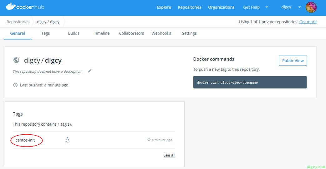 Docker Hub 使用初探插图16