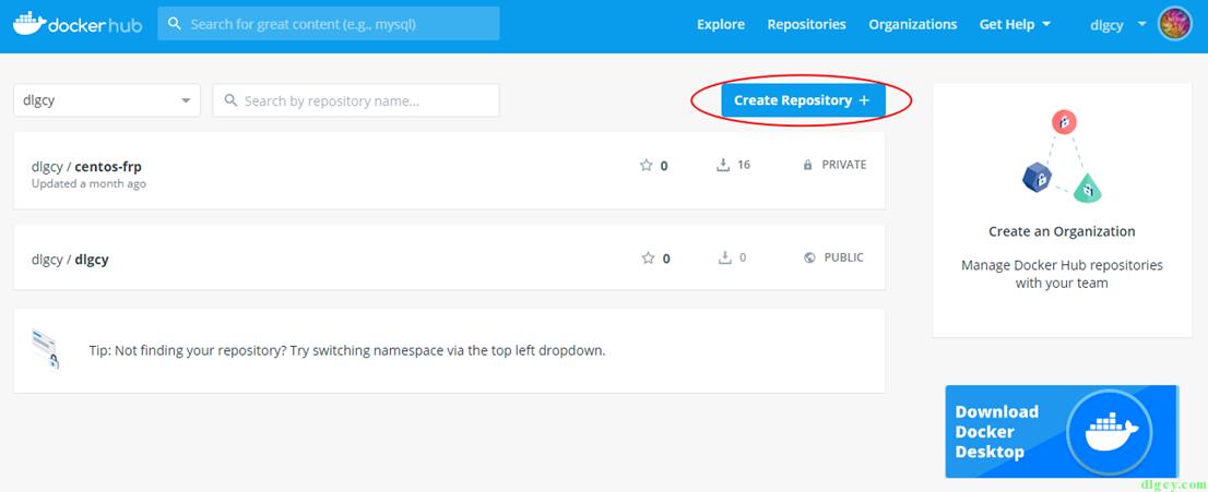 Docker Hub 使用初探插图3