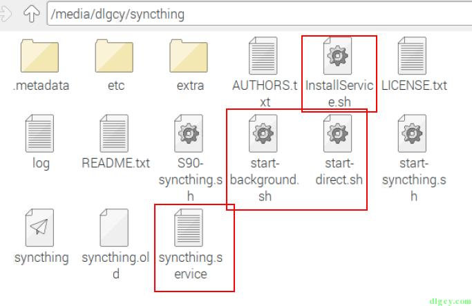在香蕉派的树莓派系统上配置 Syncthing 自启动插图5