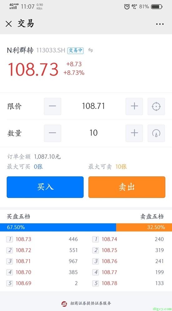 使用腾讯微证券入门可转债打新插图(21)