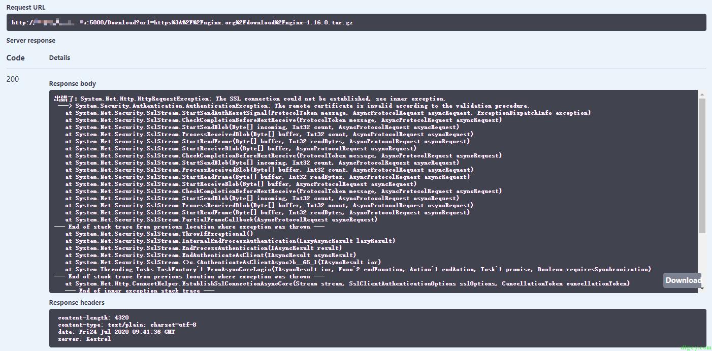 下载中转加速器 VPSDownloader.NET(.NET Core 程序部署到 Linux 系统)插图27