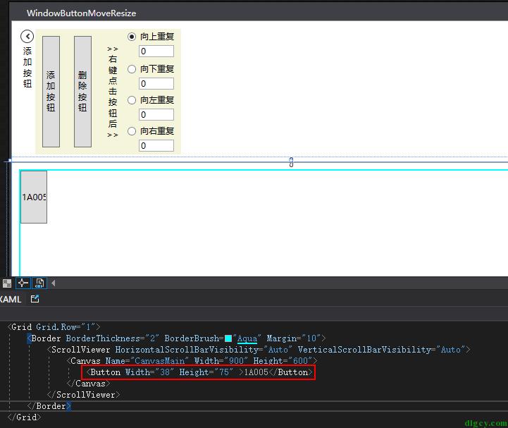 真・WPF 按钮拖动和调整大小插图1