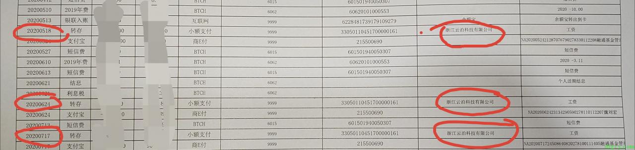 浙江云泊科技有限公司欠薪情况插图