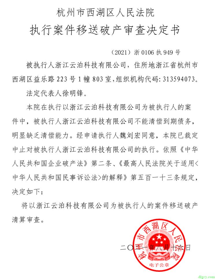 浙江云泊科技有限公司欠薪情况插图20