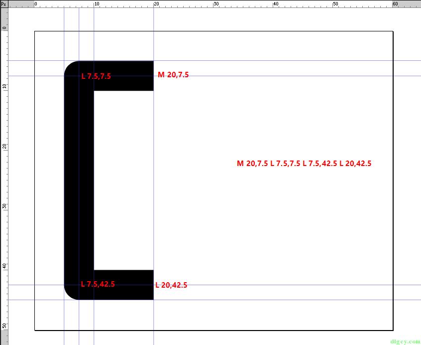 WPF 使用 Expression Design 画图导出及使用 Path 画图插图14