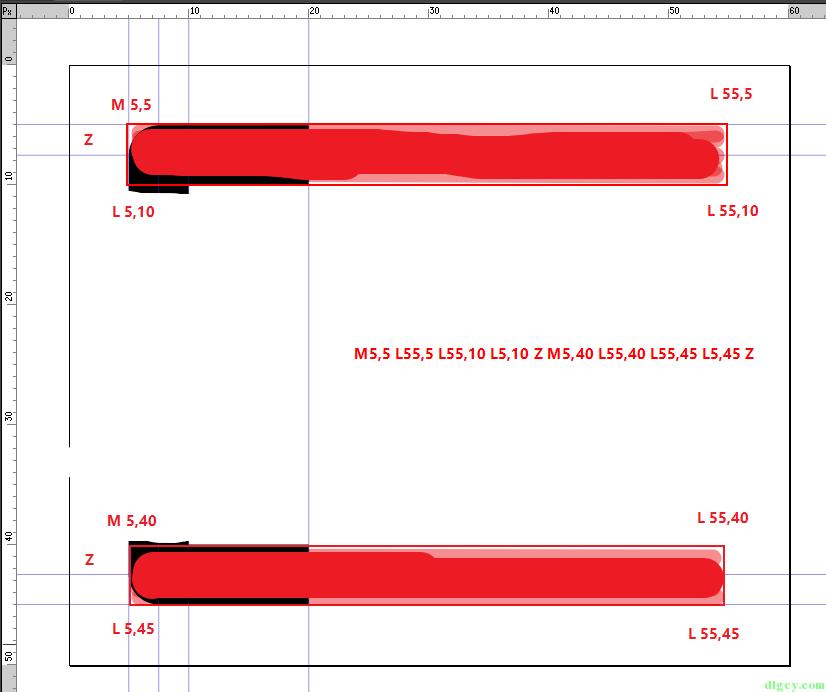 WPF 使用 Expression Design 画图导出及使用 Path 画图插图19