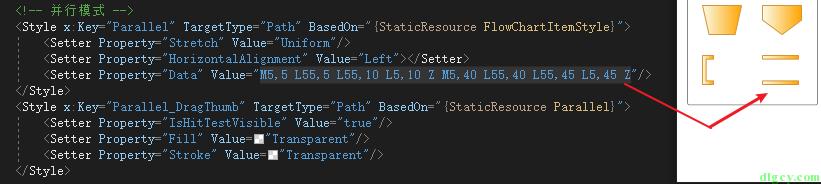 WPF 使用 Expression Design 画图导出及使用 Path 画图插图20