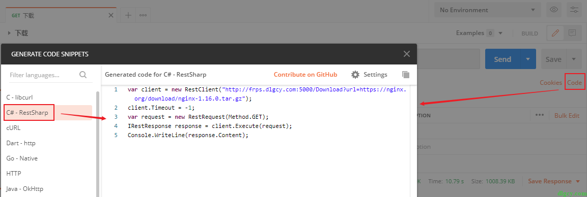 Blazor 中如何下载文件到浏览器插图3
