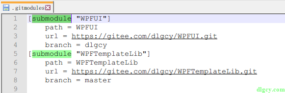 通过 GitExtensions 来使用 Git 子模块功能插图1